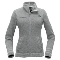 LADIES THE NORTH FACE SWEATER FLEECE JACKET